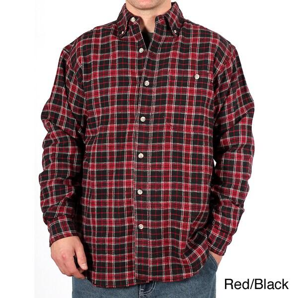 Farmall IH Men's Plaid Cotton Flannel Shirt