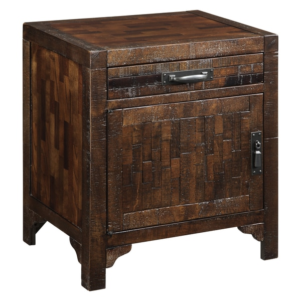 Creek Classics Rustic Weathered Brown Accent Chest