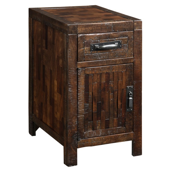 Creek Classics Hewn Chair Side Chest