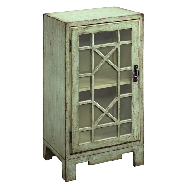 Creek Classics Chinese Chippendale Green Accent Chest
