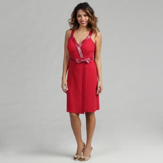 Issue New York Red Short Cocktail Dress