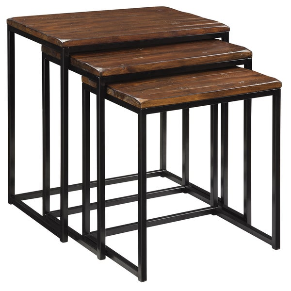 Creek Classics Rustic Nested Tables (Set of 3)