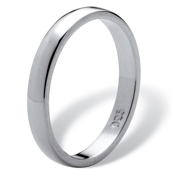 Wedding Band Ring Genuine Sterling Silver 925 Jewelry Gift Width 2MM Selectable