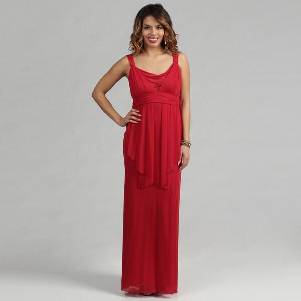 Issue New York Long Mesh Dress