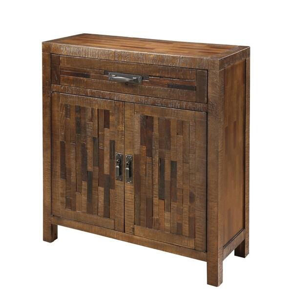 Creek Classics Two Door Rustic Brown Cabinet