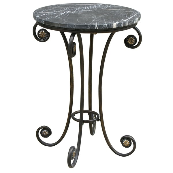 Creek Classics Marble Accent Table