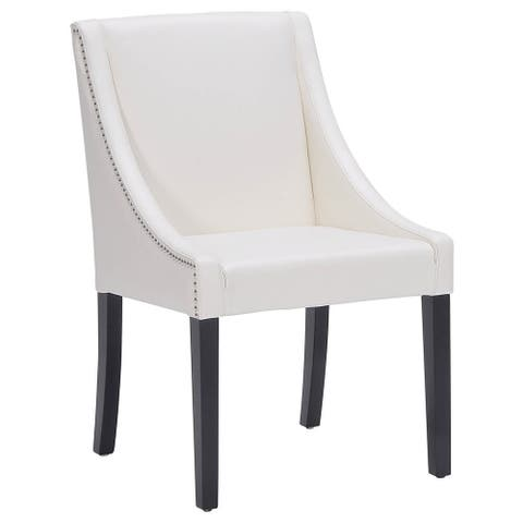 Sunpan '5West' Lucille Leather Dining Chair - Medium