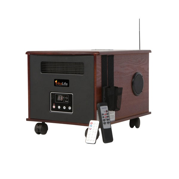 Infralife 300PTC Digital Infrared Space Heater with Music