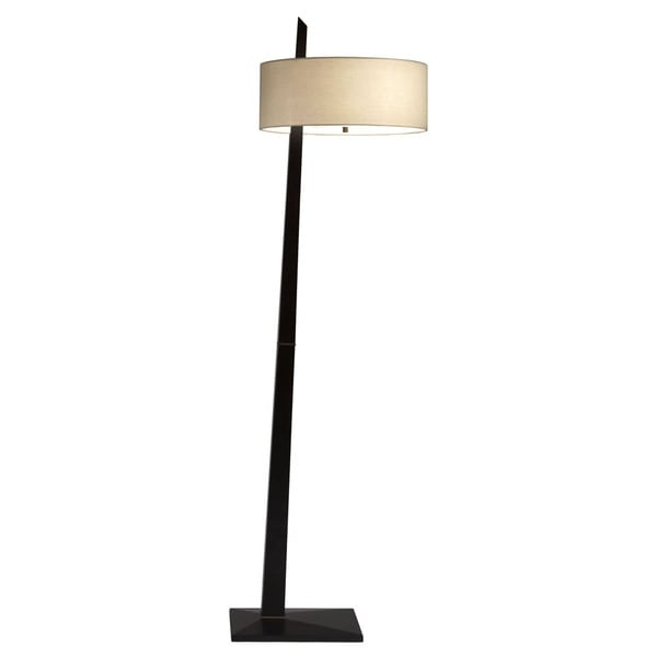 Dark Brown Tilt Floor Lamp