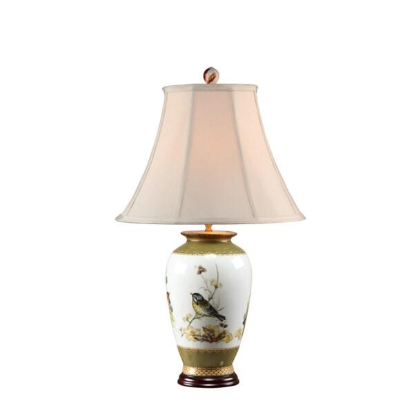 Secret Garden Bird Design Table Lamp