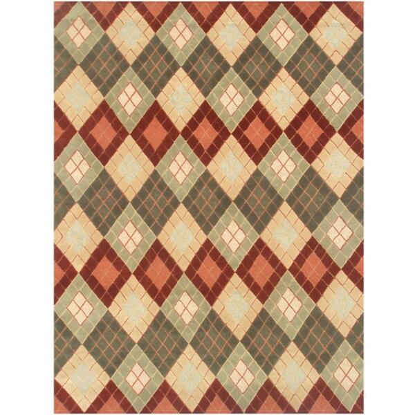 Antonio Hand-made Wool Rug (5' x 8')