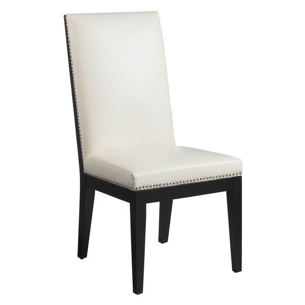 Sunpan '5West' St. Tropez Dining Chairs with Ivory Upholstery (Set of Two)