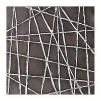 Sunpan 'Black Web' Original Canvas Art