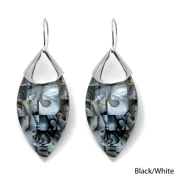 2256830cc Shop Angelina D'Andrea Mother of Pearl Earrings - Free Shipping On ...