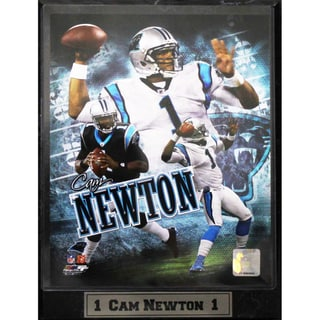 Carolina Panthers Cam Newton Photo Plaque (9 x 12)