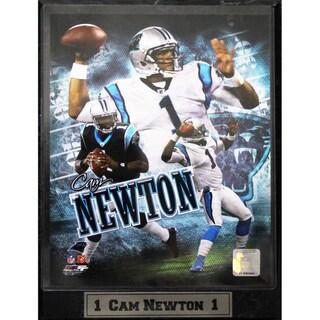 Carolina Panthers Cam Newton Photo Plaque (9 x 12)