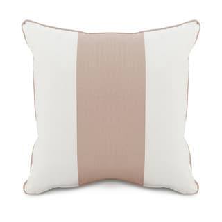Oilo Corded Blush Striped 18 x 18 Pillow