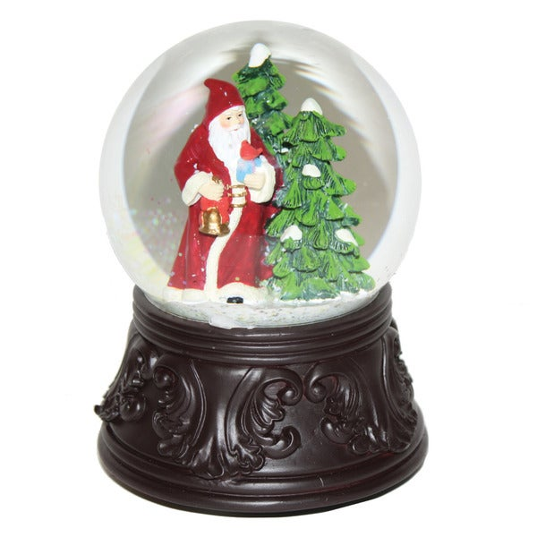 Good Tidings Father Christmas Water Globe