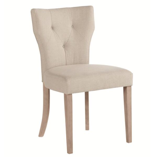 Sunpan Barclay Linen Natural Dining Chairs (Set of 2)