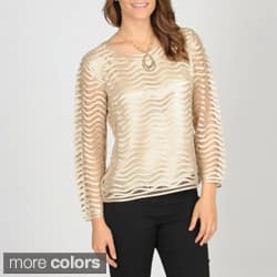 SoulMates Women's Hand Crafted Silk Top|https://ak1.ostkcdn.com/images/products/7378412/SoulMates-Womens-Hand-Crafted-Silk-Top-P14838210.jpg?impolicy=medium