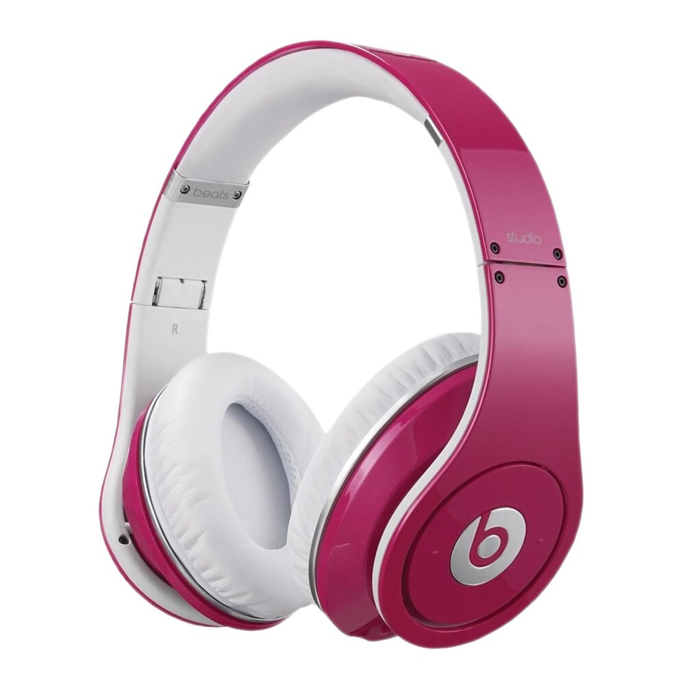 00fe141ef Shop Monster Beats by Dr. Dre Studio HD Headphones (Pink) - Free Shipping  Today - Overstock - 7378478