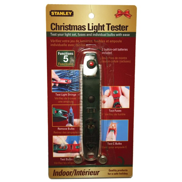 Electrical Christmas Light Tester