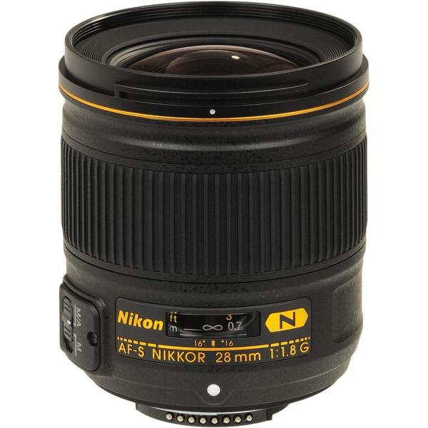 Nikon AF-S NIKKOR 28mm f/1.8G Lens (USA)