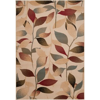 Cloverleaf Contemporary Floral Area Rug