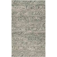 The Gray Barn Magda Hand-woven Green/ Brown Casual Wool Area Rug - 2' x 3'
