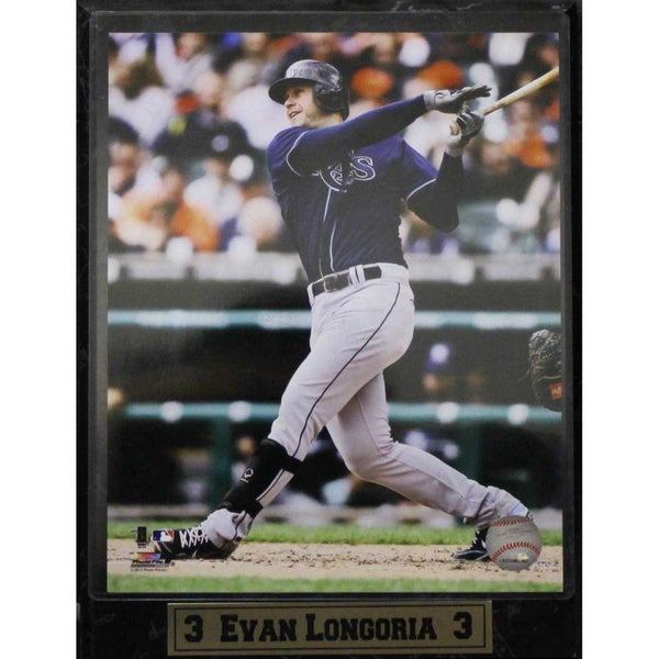Tampa Bay Rays Evan Longoria Photo Plaque (9 x 12)