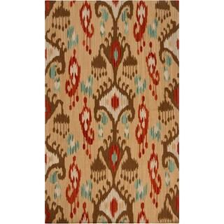 Hand-woven Lonerock Wool Rug