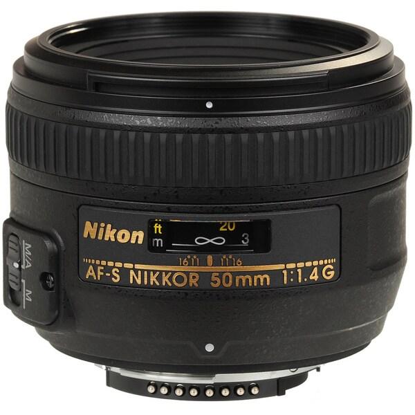 Nikon AF-S Nikkor 50mm f/1.4G Autofocus Lens (USA)