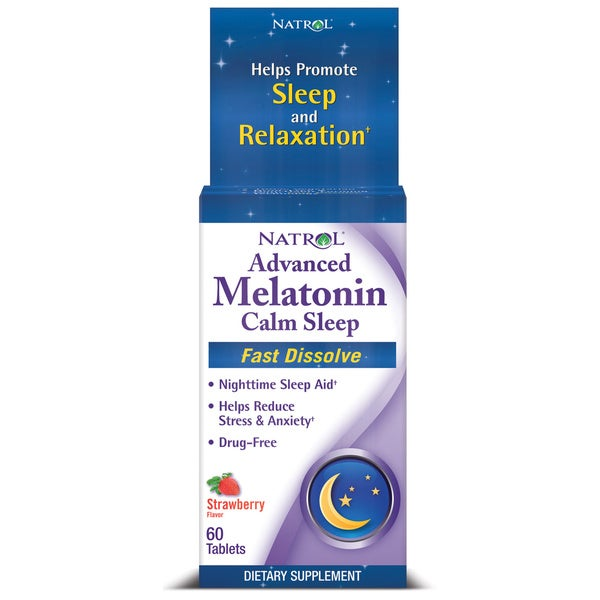 Natrol Advanced Melatonin Calm Sleep Fast Dissolve (60 count)