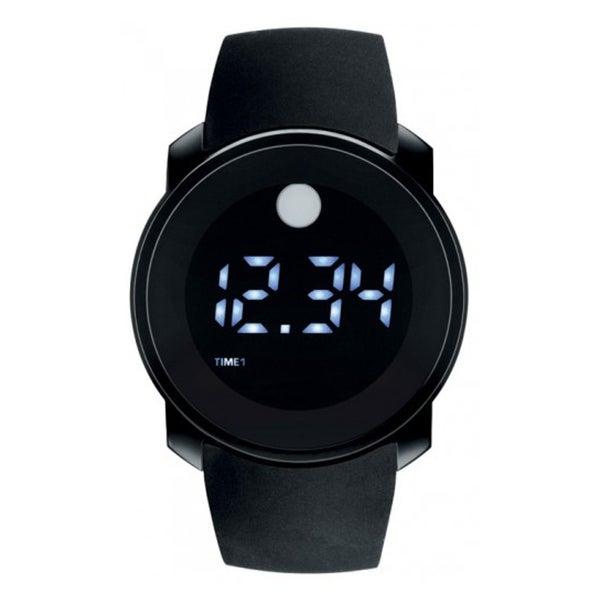 Movado Men's Bold Touch Screen Dual-time digital Watch