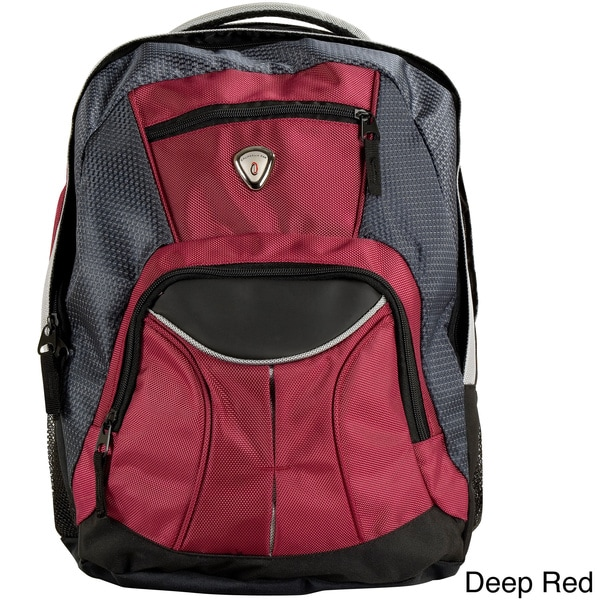 CalPak Mentor 17-inch Deluxe Backpack with 15-inch Laptop Compartment