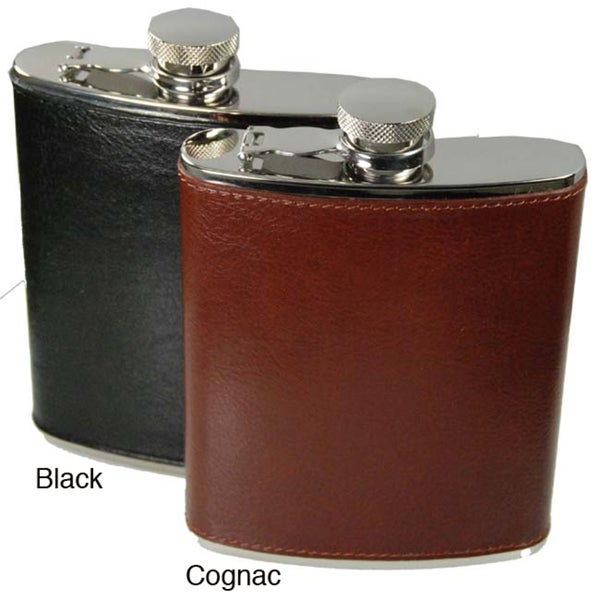 Torino Leather 6-oz Flask