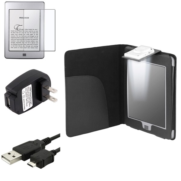 BasAcc Case/ Cable/ Protector/ Charger for Amazon Kindle Touch