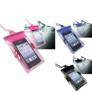 INSTEN Waterproof Bag for Samsung Nexus S/ Galaxy s 4G (Pack of 3)