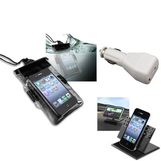 INSTEN Charger/ Holder/ Phone Case Cover for Samsung Galaxy S2/ S II Hercules T989