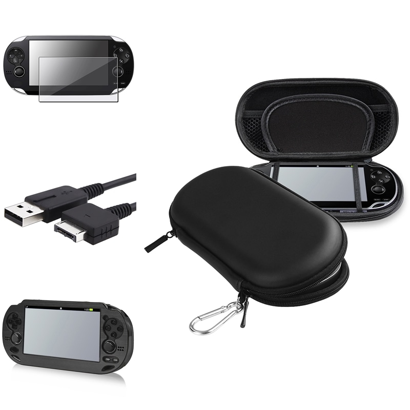 BasAcc Case/ Zipper Case/ Cable/ Protector for Sony Playstation Vita