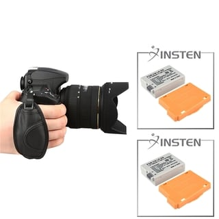 INSTEN Battery/ Grip for Canon EOS 550D/ 600D/ Rebel T3i/ T2i