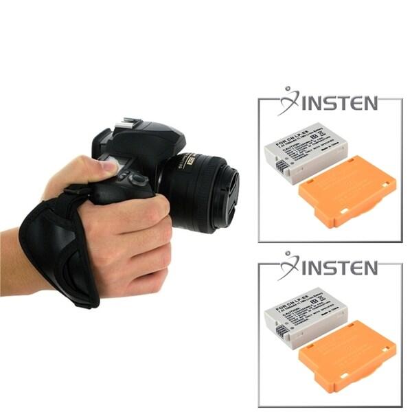 INSTEN Battery/ Grip for Canon Digital Rebel T2i/ T3i/ 550D/ 600D
