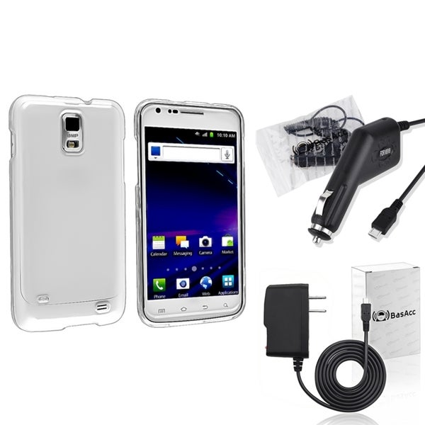 INSTEN Phone Case Cover/ Chargers for Samsung Galaxy S2/ S II Skyrocket i727
