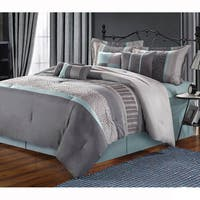 Clay Alder Home Fruita Embroidered 8-piece Comforter Set
