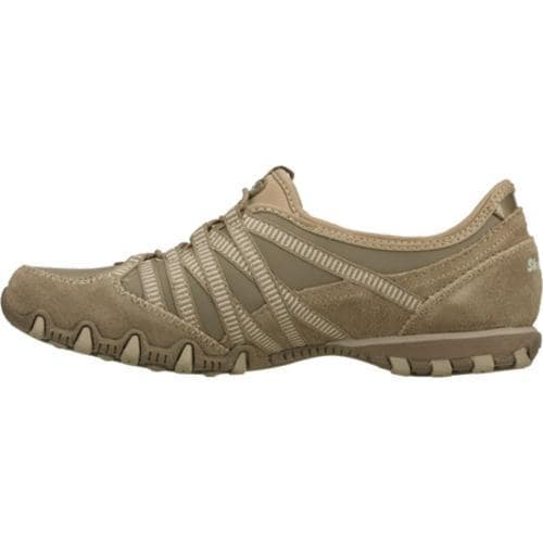 Women's Skechers Bikers Dream Come True Brown - Thumbnail 2