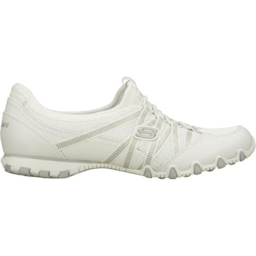 Women's Skechers Bikers Hot Ticket White - Thumbnail 1