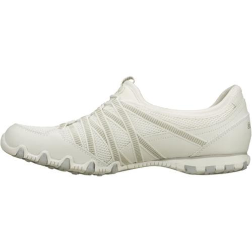 Women's Skechers Bikers Hot Ticket White - Thumbnail 2