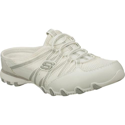 Women's Skechers Bikers Out and About White - Thumbnail 0