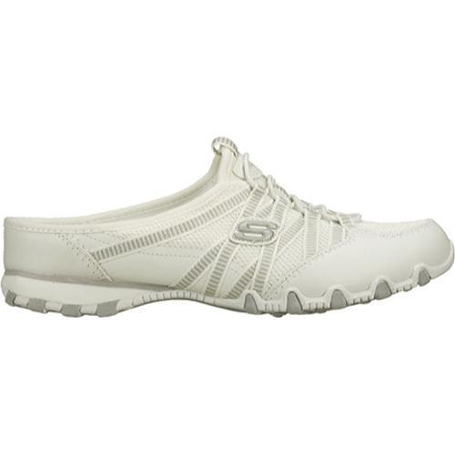 Women's Skechers Bikers Out and About White - Thumbnail 1