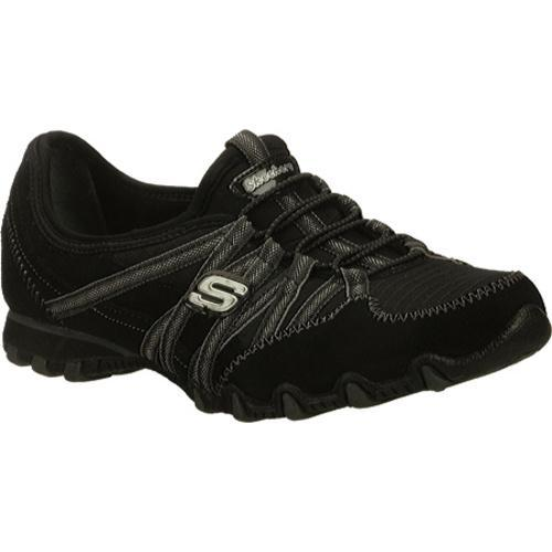 Women's Skechers Bikers Verified Black/Charcoal